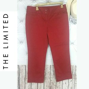 Drew Fit Collection THE LIMITED brand red pants